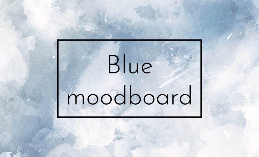 moodboard bleu