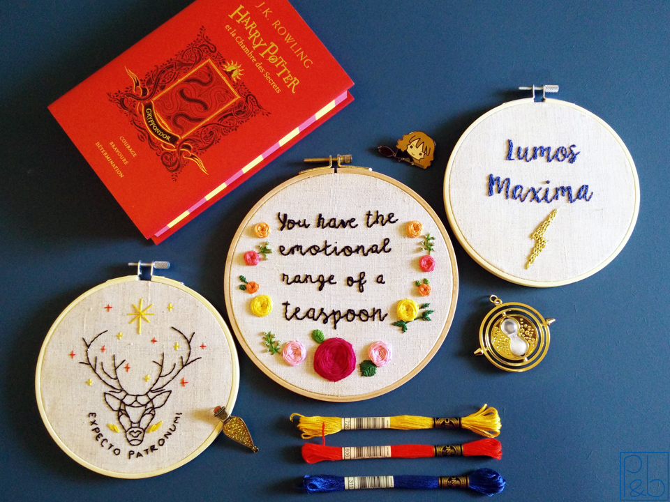 Broderies Harry Potter