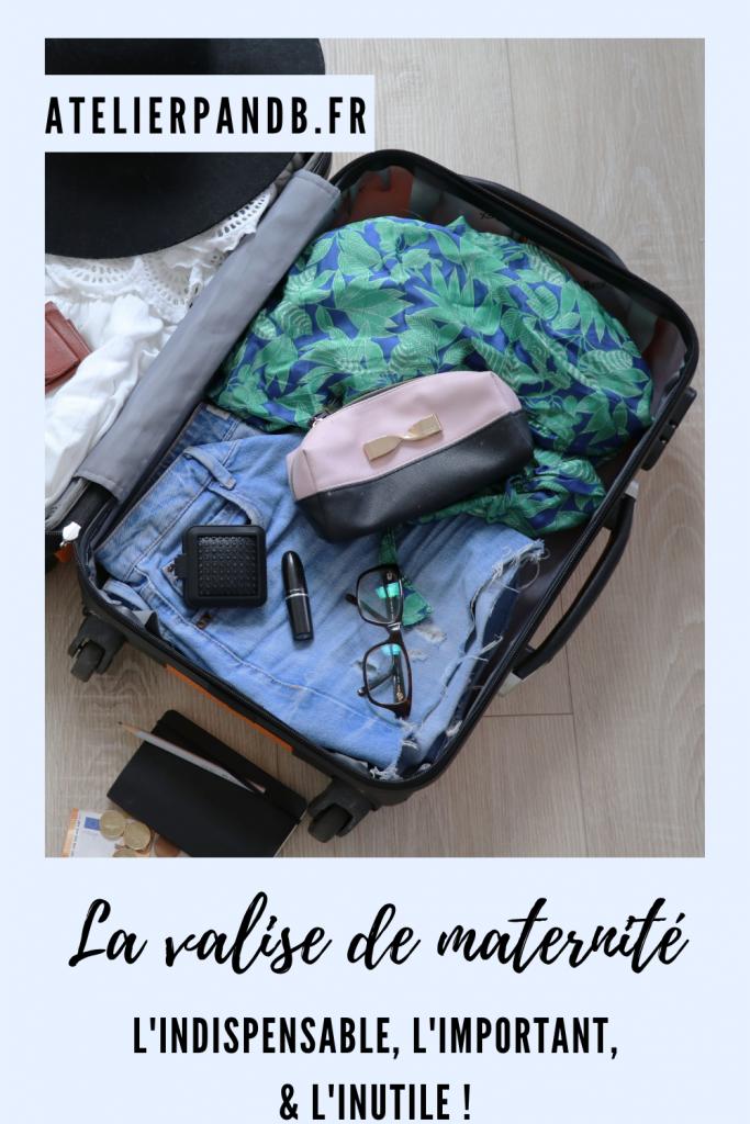 valise de maternité